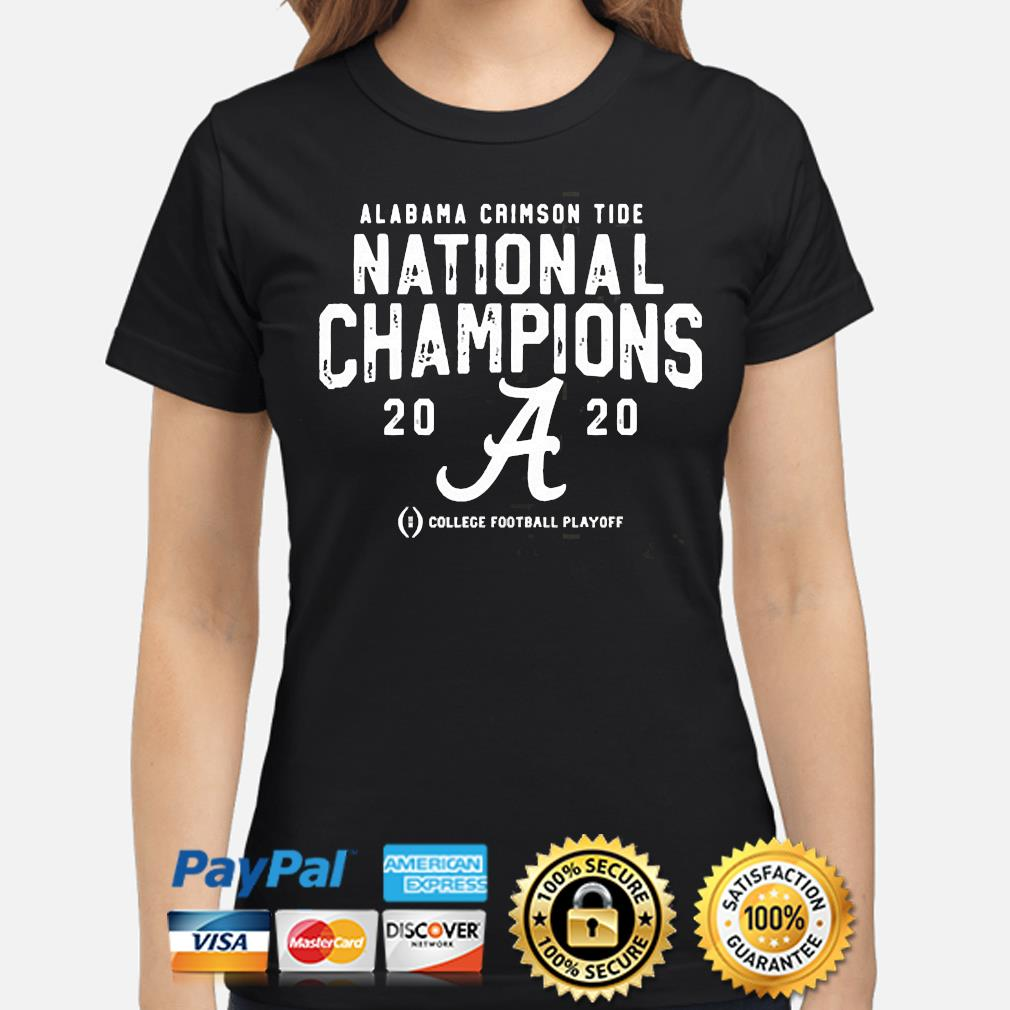 Alabama Crimson Tide college football playoff 2021 national championship shirt