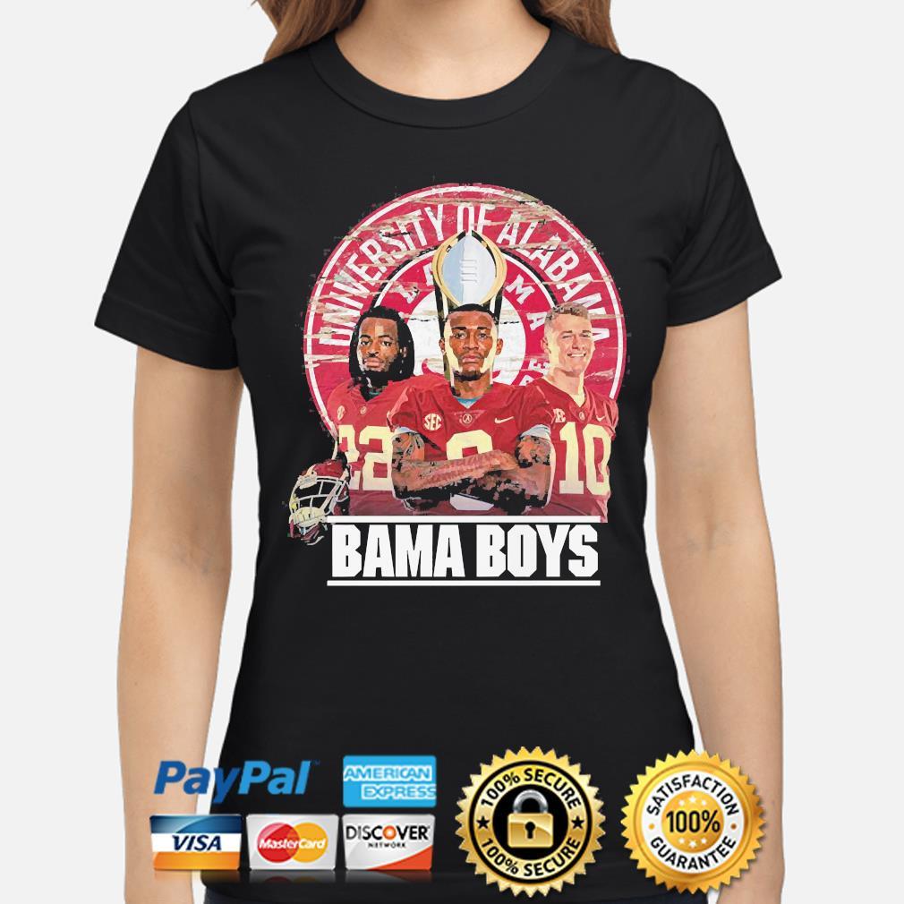 Alabama Crimson Tide University of Alabama Bama boys shirt