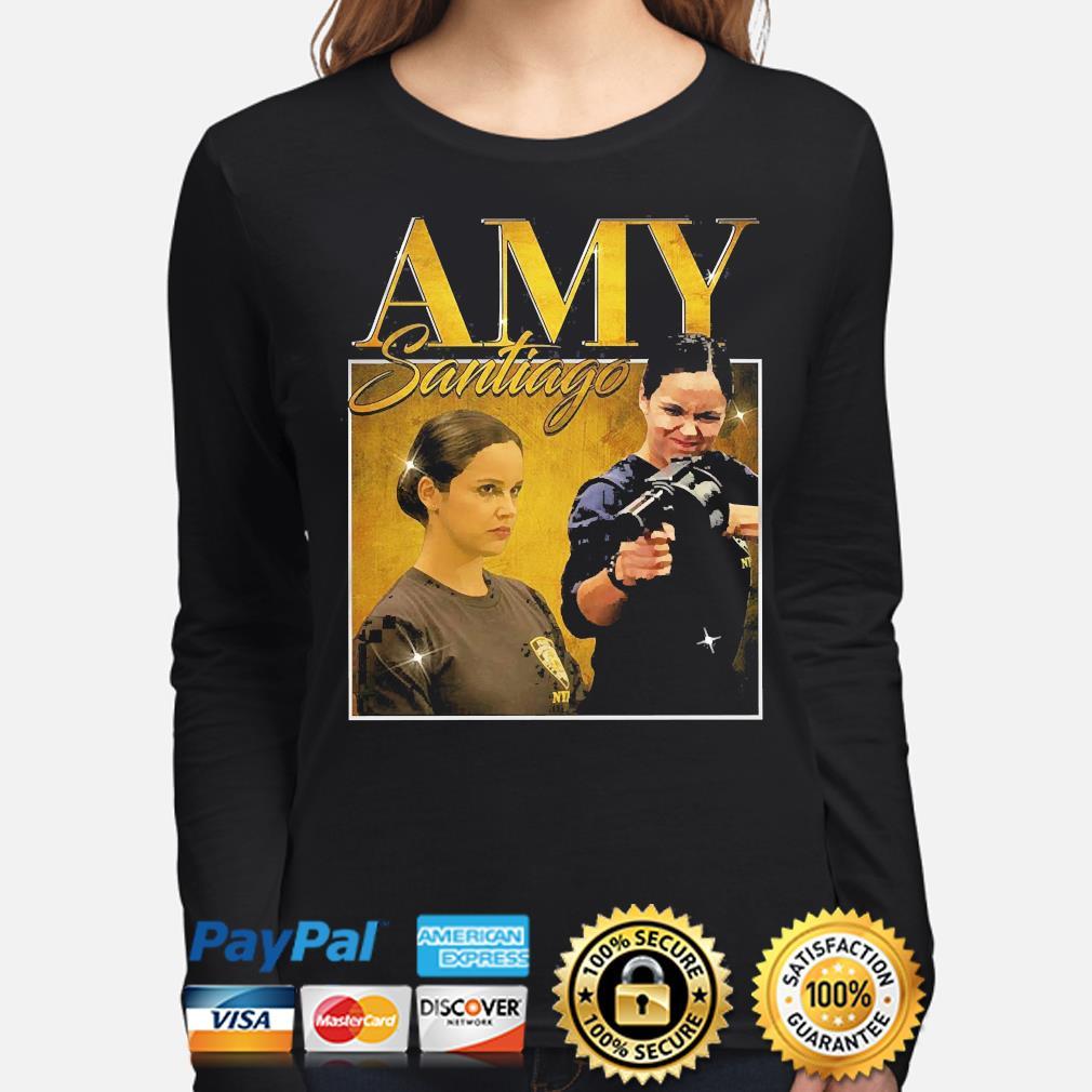 Amy santiago brooklyn 99 melissa fumero 90s s long-sleeve