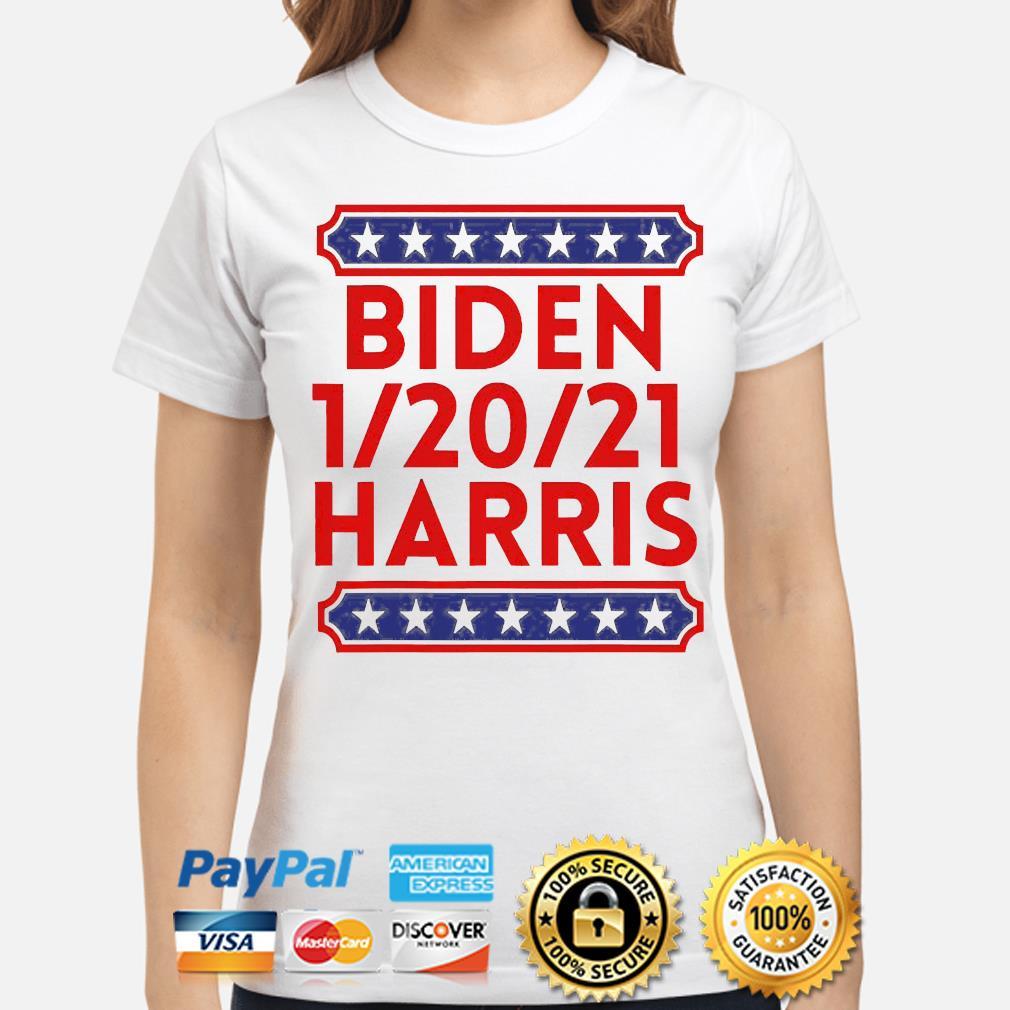 Biden harris presidential inauguration day 1202021 s ladies-shirt