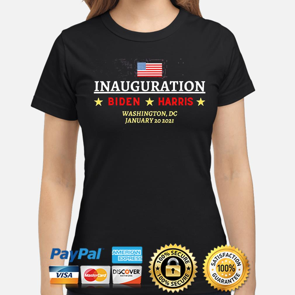 Inauguration Biden Harris Washington Dc january 20-2021 American flag shirt