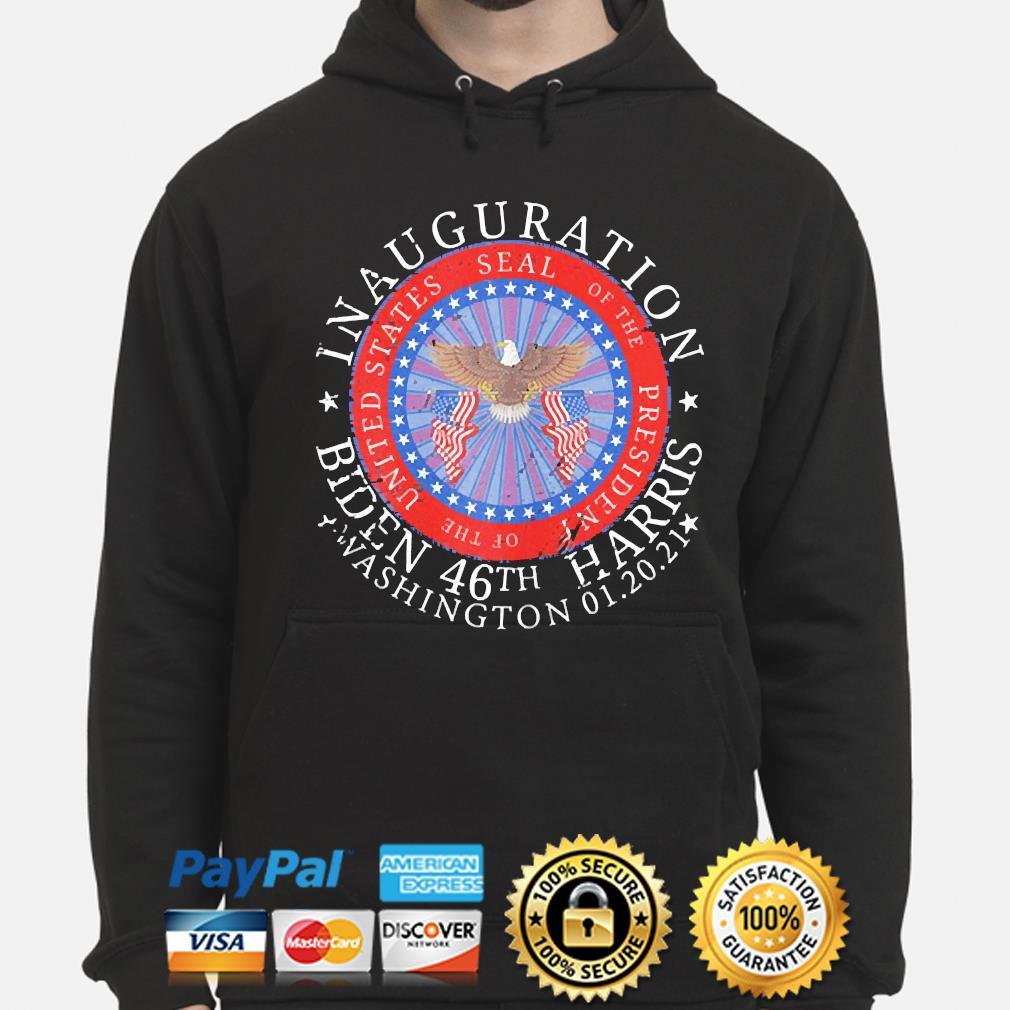 Joe biden inauguration 46th president day 2021 shirt Washington 01 20 2021 s hoodie