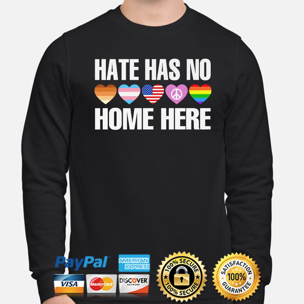 LGBT hate has no home here s sweater