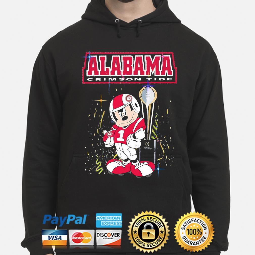 Mickey Mouse Alabama Crimson Tide s hoodie