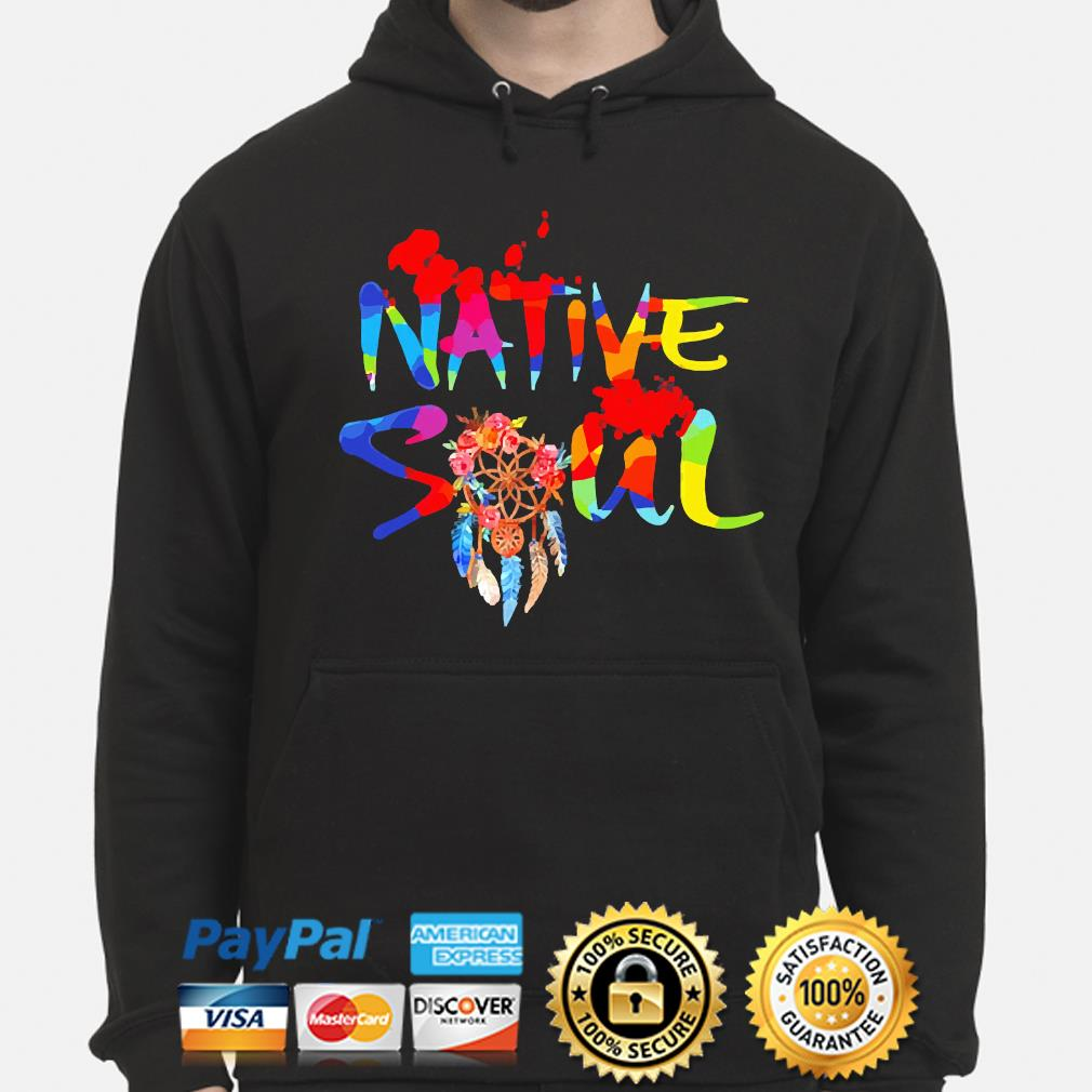 Official LGBT Native Soul s hoodie