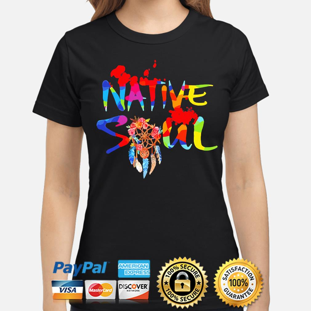 Official LGBT Native Soul shirt