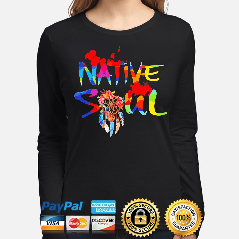 Official LGBT Native Soul s long-sleeve