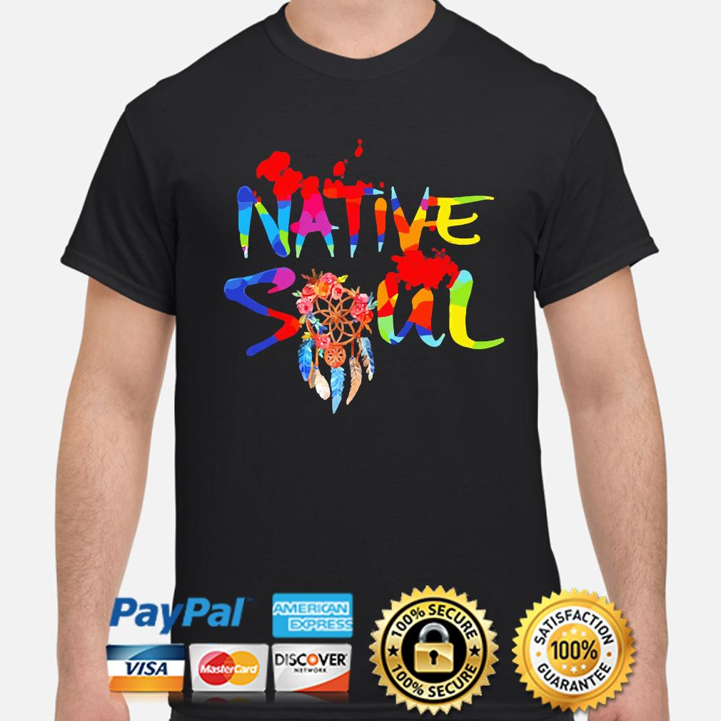 Official LGBT Native Soul s shirt
