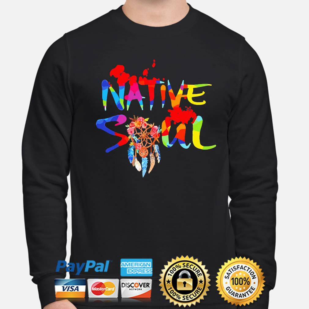 Official LGBT Native Soul s sweater